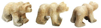 Soapstone Bear Carving Sculpture Kits