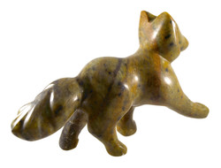Soapstone Fox Tail Sculpture Carving Kit