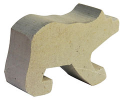 Blank Cut Out Bear Soapstone