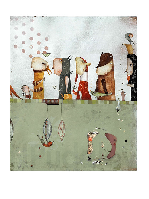 """He&She - Kindergarten"" (limited edition prints)"