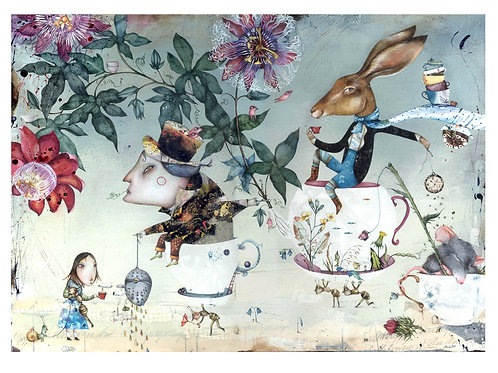 """ Tea Time, Alice"" (limited edition prints)"