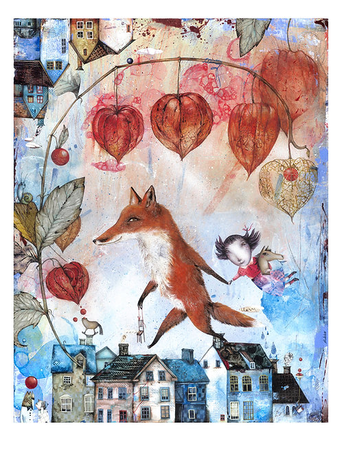 Mr. Fox  (limited edition prints)