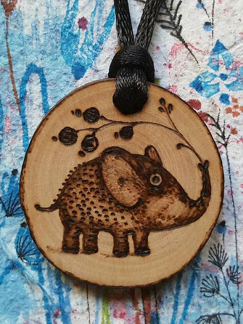 """Necklace """"Elephant Mio"""""""