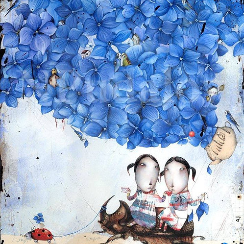 Blue Hydrangea Tea