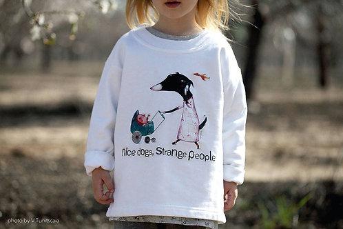 "T-Shirt ""Nice Dogs, Strange People"""