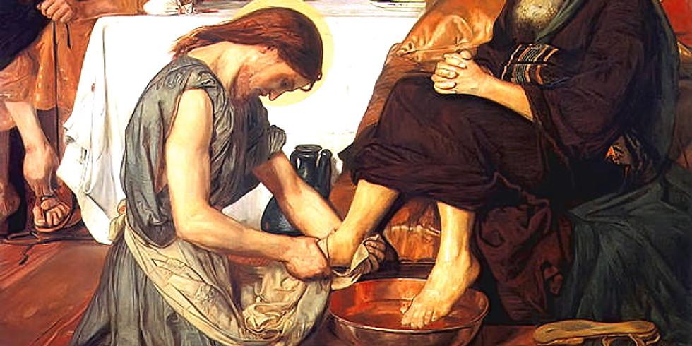 Maundy Thursday Mass and Footwashing
