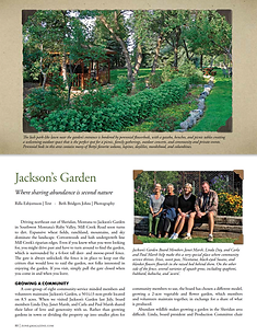 Jacksons Garden Press Zone 4 Magazine