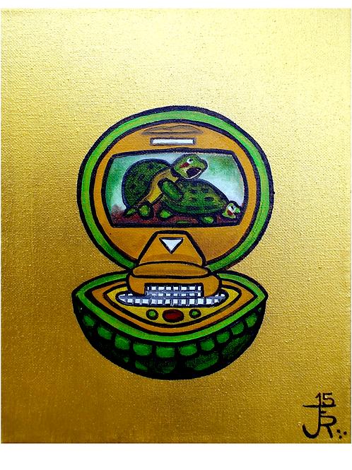Turtle Porn - Original Oil