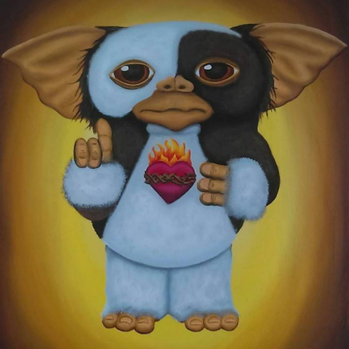 Mogwai in the Streets, Gremlin in the Sheets - Large Print