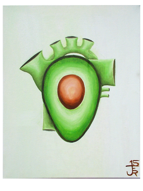 Green Heart - original