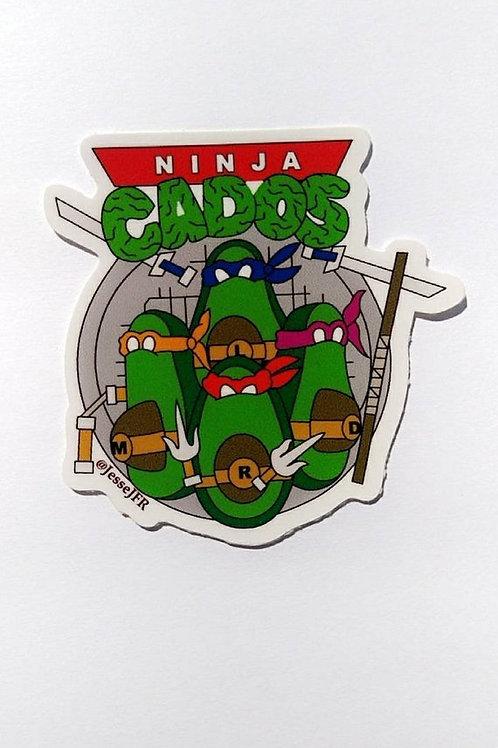 Nina Cado Logo - Sticker