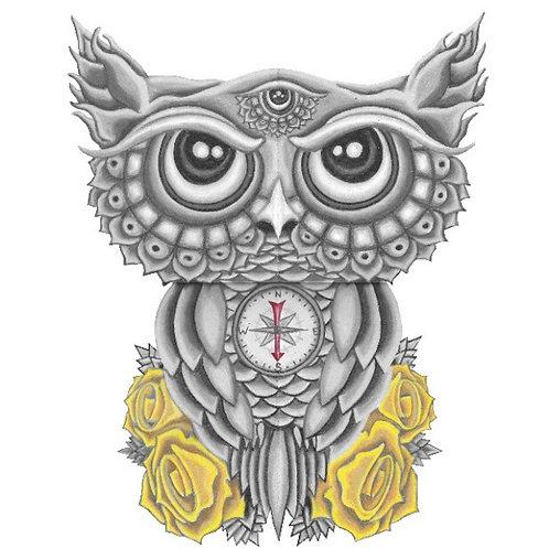 GREY OWL - Print