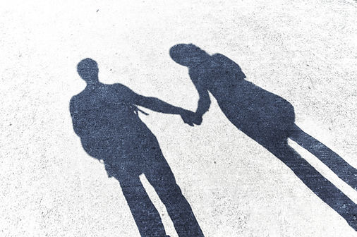shadowpicture man and woman