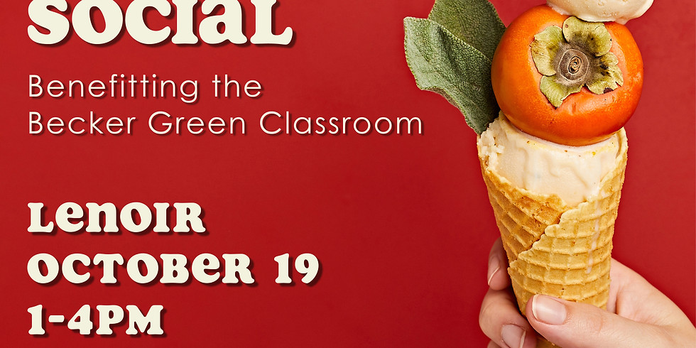 Fall Community Ice Cream Social