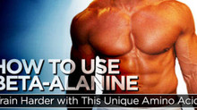 THE SCOOP ON BETA-ALANINE