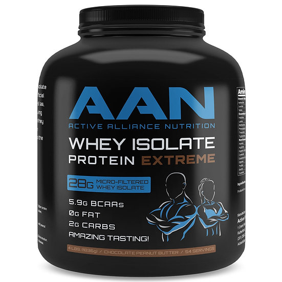 4 lbs Whey Isolate Protein Extreme