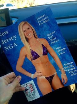 NGA Magazine Cover Girl