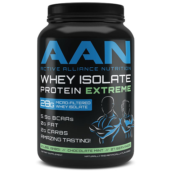2 lbs Whey Isolate Protein Extreme
