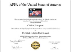 Nutrition Certification
