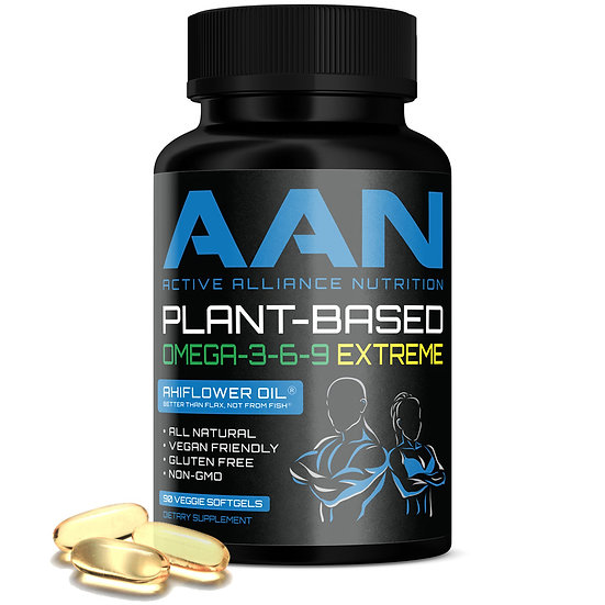 AAN Plant-Based Omega-3-6-9 Extreme
