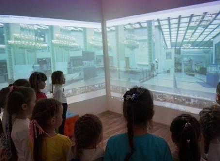 Виртуальный музей в детском саду