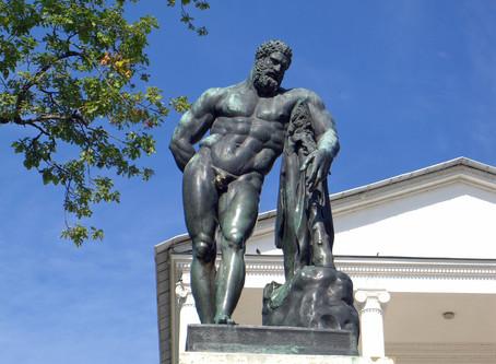 Виртуальные скульптуры в Петербурге