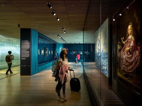 Голландский музей Рейксмузеум, расположенный в аэропорту, закрыт на ремонт