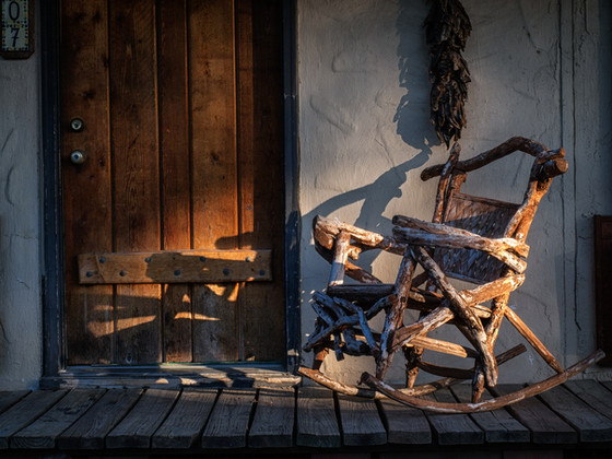 Shape your own destiny, take the rocking chair test