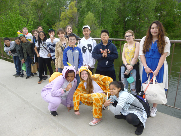 Nature Hike after Performing.JPG