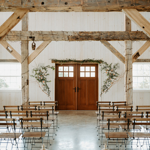 Indoor Wedding Ceremony Venue Naples NY Finger Lakes area
