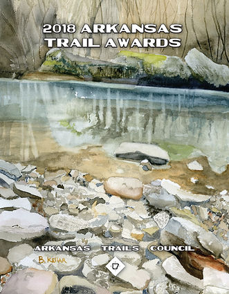 2018 Arkasas Trails Award Artwork