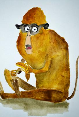 """""""Макака и банан"""""""