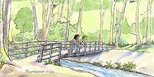 Card series long pooh bridge scene A.jpg