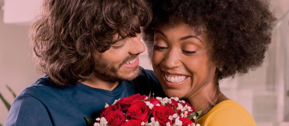Valentines Day: empresa de flores cria campanha que relaciona amor com flores