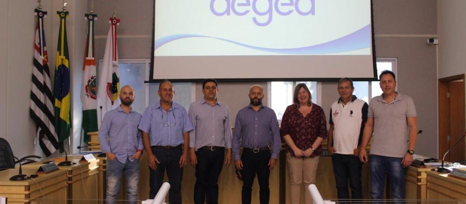 Águas de Holambra participa de reunião do COMDEMA