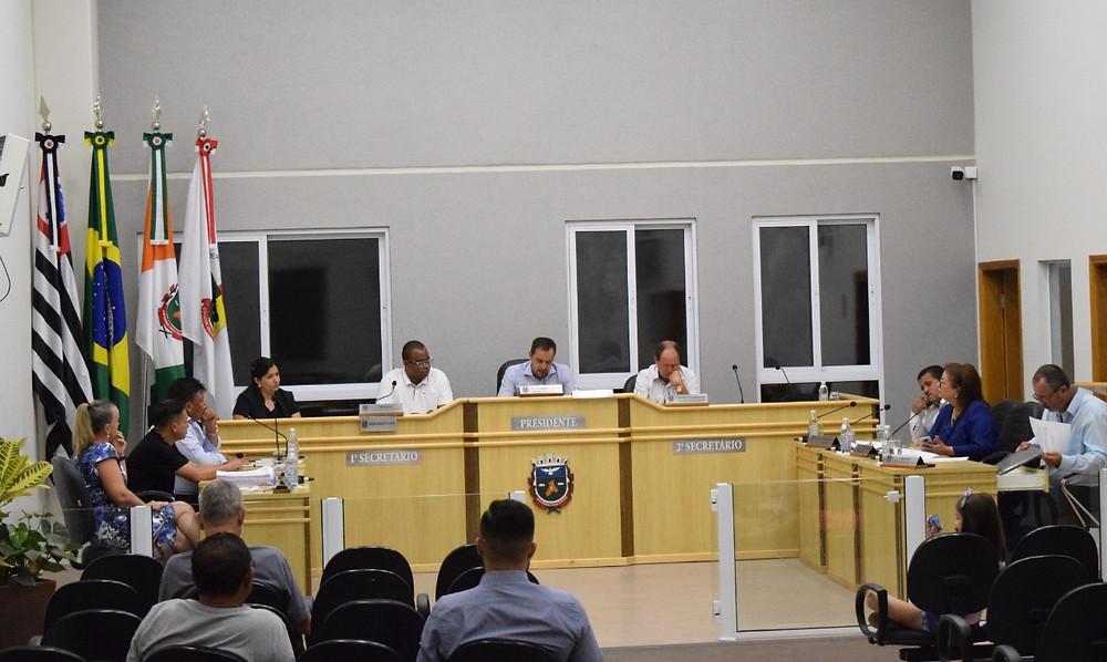 Câmara municipal de Holambra reunião - projeto de lei orçamentária anual