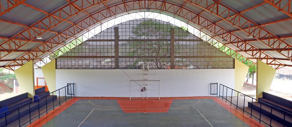Primeira Quadra Poliesportiva do Palmeiras  é inaugurada nesse sábado em Holambra