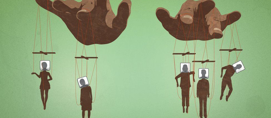 Coluna Ponderando: Estamos sendo, todos, manipulados