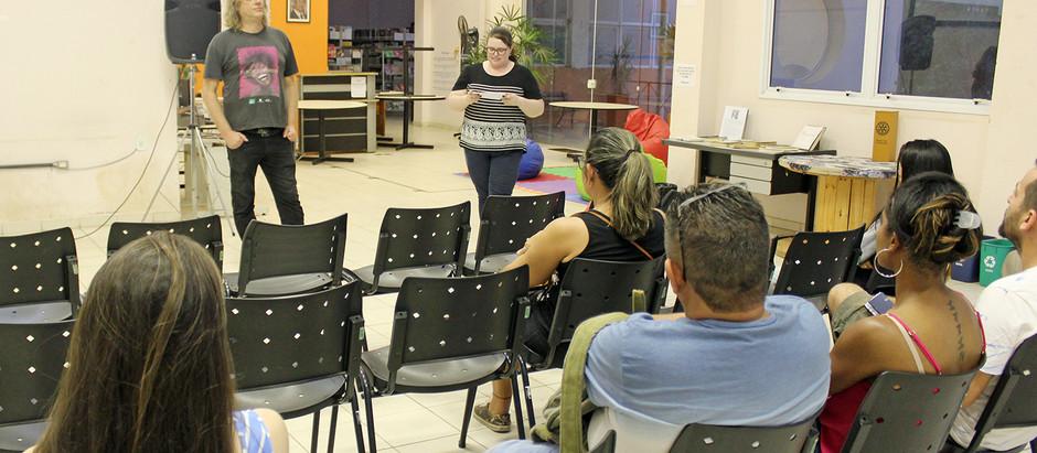 Moradores de Holambra participam de Oficina Audiovisual