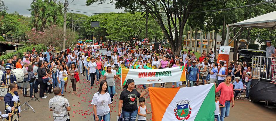 Aniversário de Holambra será celebrado com Desfile Cívico no dia 27