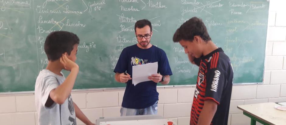 Matemática diferente: professor realiza gincana para incentivar alunos de Holambra