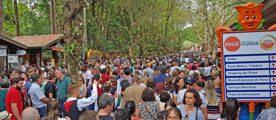 Morador de Holambra terá acesso gratuito à Expoflora