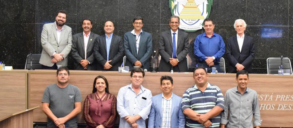 Presidente da Câmara Municipal de Holambra participa da 7ª reunião do Parlamento