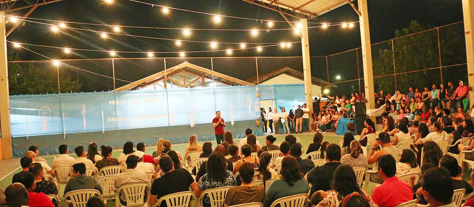 Unidades Flamboyant e Primaveras encerram primeira semana da Escola da Família
