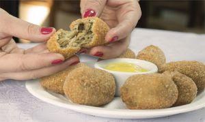 Croquete holandês do Casa Bela Restaurante é finalista regional de festival gastronômico