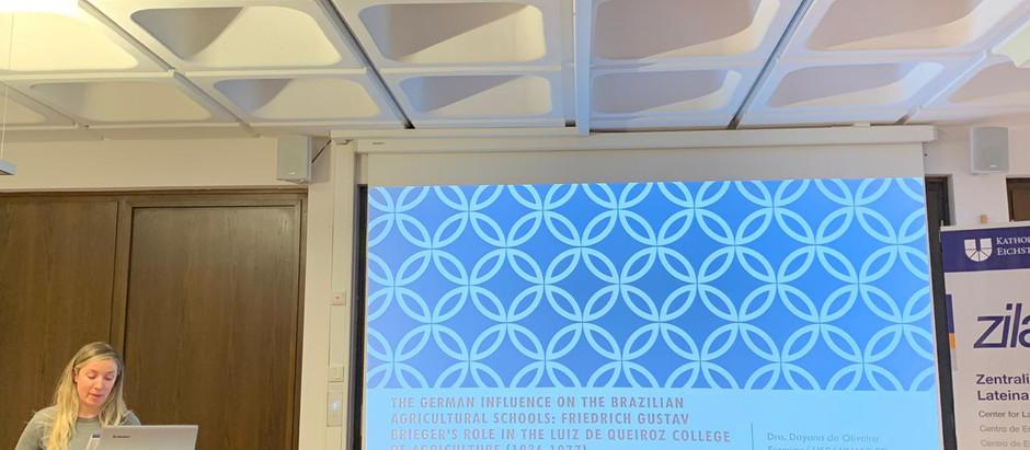 Professora do Unasp apresenta pesquisa na Alemanha