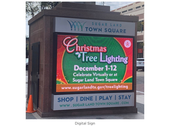 Digital Signs (Town Square)