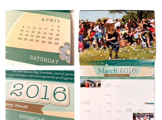 2016 Sugar Land Calendar - March Spread