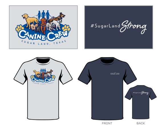 Canine Crew + Sugar Land Strong
