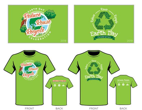 Earth Day Celebration T-Shirts